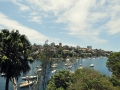 Moored boats in Mosman Bay